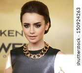 Berlin   Aug 20  Lily Collins...