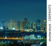 bangkok cityscape. bangkok... | Shutterstock . vector #150934373