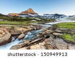 beautiful nature at logan pass  ... | Shutterstock . vector #150949913