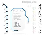 infographics  website template  ...