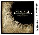 vintage card design for... | Shutterstock .eps vector #150979727