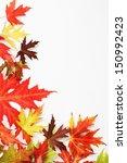 Autumn Fallen Colored Leaves O...
