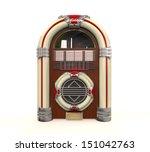Juke Box Radio Isolated
