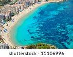 aerial view of a mediterranean... | Shutterstock . vector #15106996