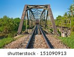 train transportation in... | Shutterstock . vector #151090913