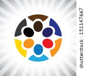 company key executives team... | Shutterstock . vector #151147667