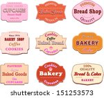 collection of vintage retro... | Shutterstock .eps vector #151253573