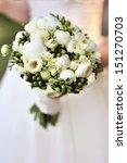 Beautiful White Wedding Bouque...