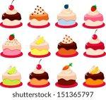 vector illustration of various... | Shutterstock .eps vector #151365797