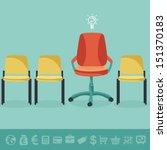 vector office concept   office...   Shutterstock .eps vector #151370183