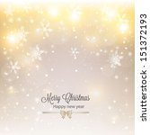 abstract christmas background... | Shutterstock .eps vector #151372193