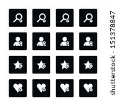 icon set 07 loupe  user profile ...