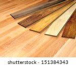 new oak parquet of different