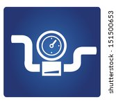 gauge  industrial valve symbol | Shutterstock .eps vector #151500653