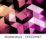 triangles abstract background   Shutterstock .eps vector #151524467