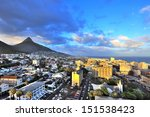 city of cape town  south africa.... | Shutterstock . vector #151538423