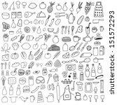 food set | Shutterstock .eps vector #151572293