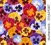seamless pattern with colorful... | Shutterstock .eps vector #151629287