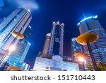 modern business center in... | Shutterstock . vector #151710443