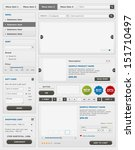 web design elements set. online ...