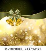 christmas background. vector... | Shutterstock .eps vector #151743497
