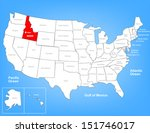 america,american,boise,boundary,capital,capitol,cartography,country,diagram,geographic,geography,idaho,illustration,landmark,map