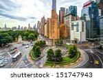 new york cityscape at columbus... | Shutterstock . vector #151747943