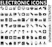Electronic Devices and Home Appliances Icons