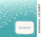 stock vector winter background... | Shutterstock .eps vector #151766897