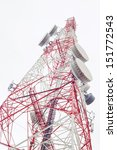 Communication Antenna Tower...
