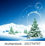new year's eve  | Shutterstock .eps vector #151774757