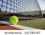 tennis court with tennis ball... | Shutterstock . vector #151782197