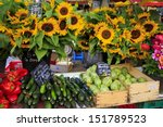 sunflowers and vegetables for... | Shutterstock . vector #151789523