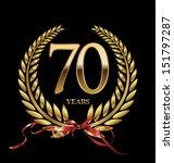 70 years anniversary laurel...