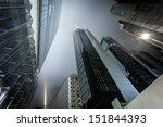 modern business center in... | Shutterstock . vector #151844393