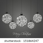 vector christmas background... | Shutterstock .eps vector #151864247
