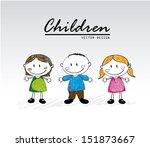 children design over white... | Shutterstock .eps vector #151873667