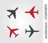 airplanes icons