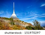 view on jested tower as a... | Shutterstock . vector #151970297