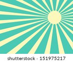 vector background sun rays with ... | Shutterstock .eps vector #151975217