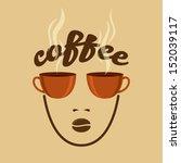 vintage coffee concept   Shutterstock .eps vector #152039117