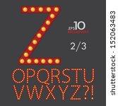 2 3 set of broadway vector... | Shutterstock .eps vector #152063483