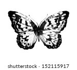 butterfly watercolor design | Shutterstock . vector #152115917