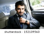 businessman in the car | Shutterstock . vector #152139563