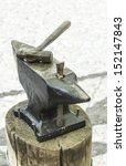 hammer anvil craft market ... | Shutterstock . vector #152147843