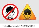 warning   burglar  theft and...