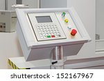 control panel of automated... | Shutterstock . vector #152167967
