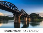Bridge River Kwai  Kanchanabur...