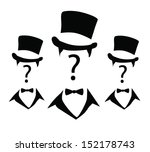 anonymous mark face vector | Shutterstock .eps vector #152178743