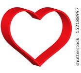 heart symbol for various design | Shutterstock . vector #152188997